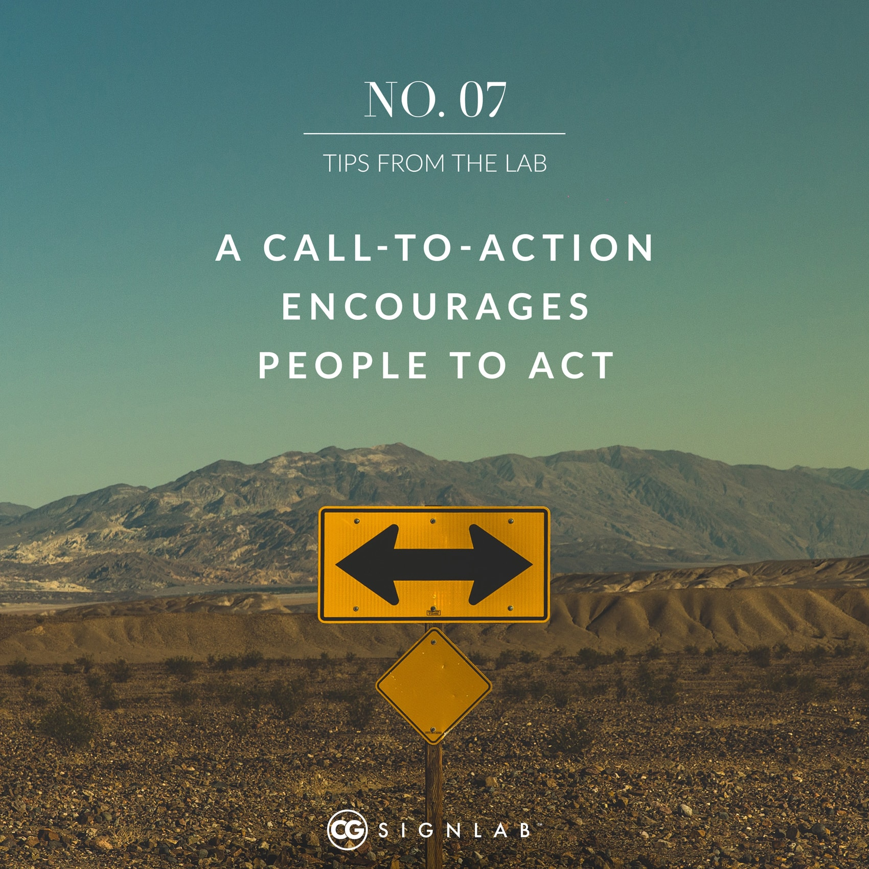 A Call-to-Action Encourages People to Act