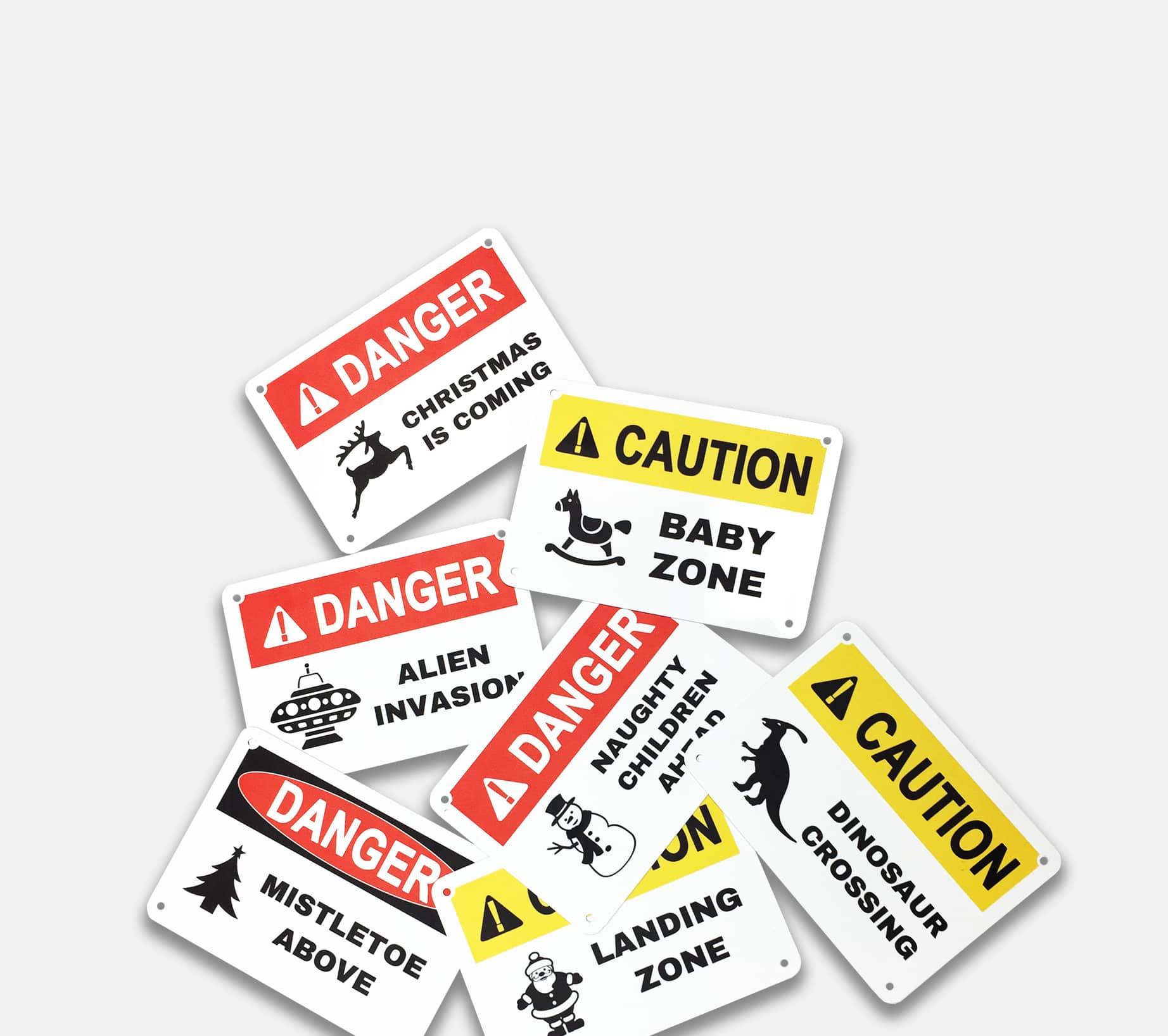 Bold Safety Signs