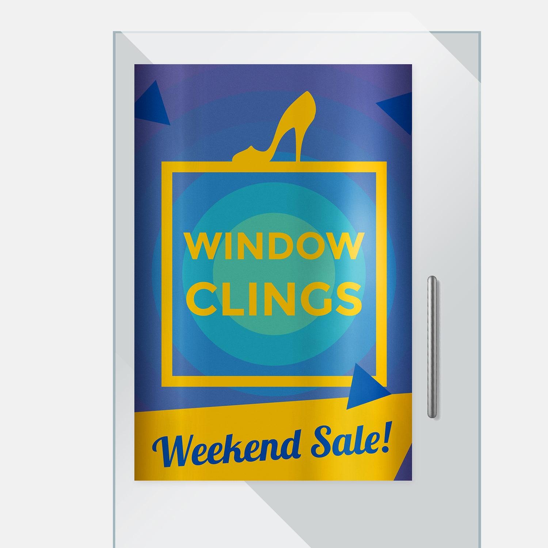 window clings - Window Clings