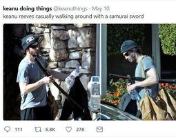 3D Sword Keanu