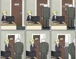 Cat CEO 3D asset
