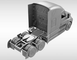 3D model Really white furike