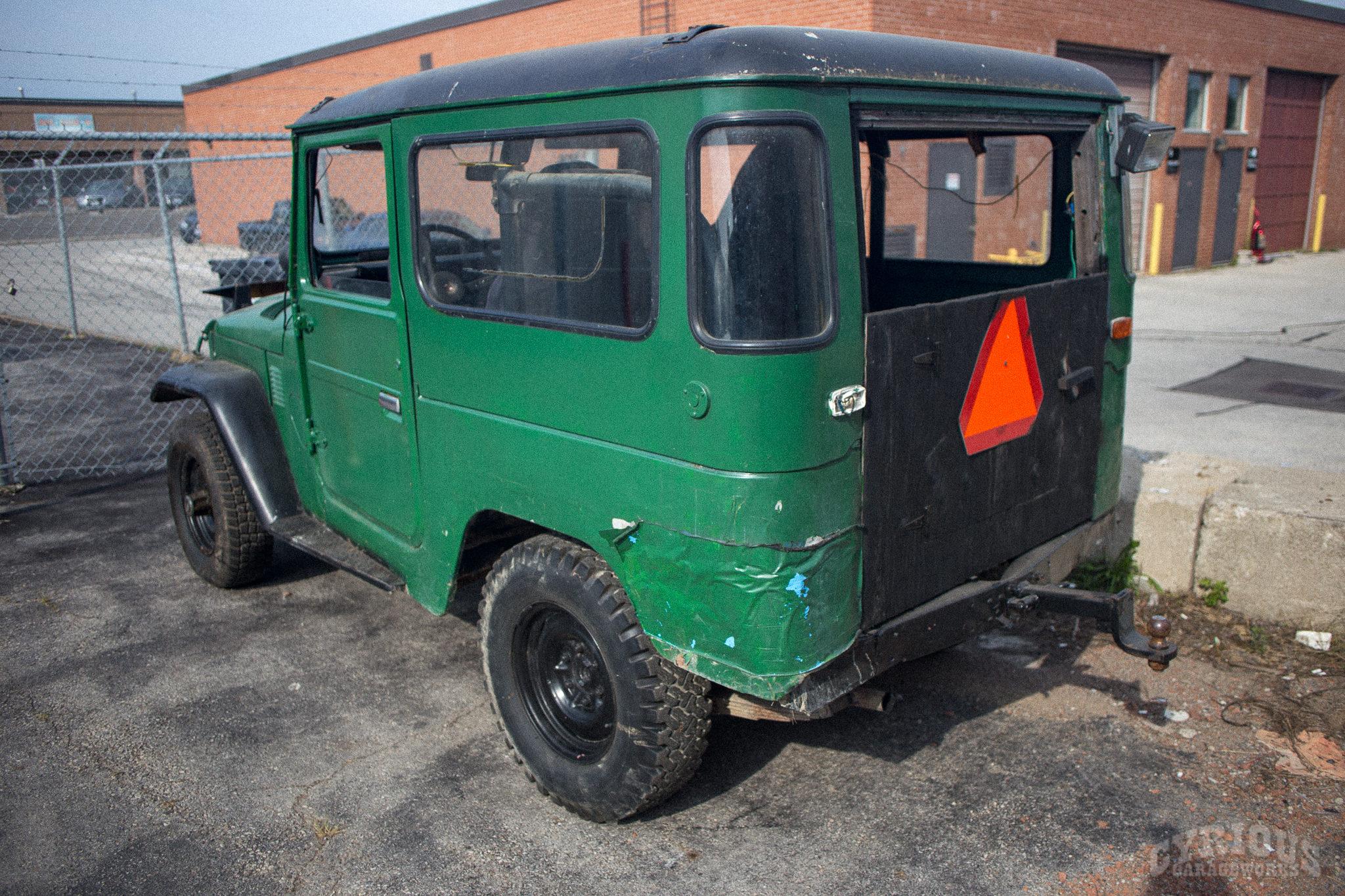 FJ40 Restoration – Clean Off-Road Machine – Part 1 – Cyrious Garageworks