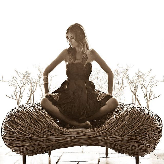 warmth texture sepia nestchair nest modern model minimal lessismore fashionphotography fashionphotographer fashionart fashion editorial design blackandwhite birds