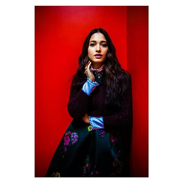 tollywood theredwall tamanaahbhatia portraiture fashionphotography editorial bollywood actress