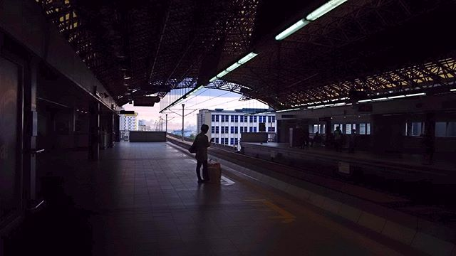 wander travel train street station sky silhouette philippines mrt manila lines cold afternoon