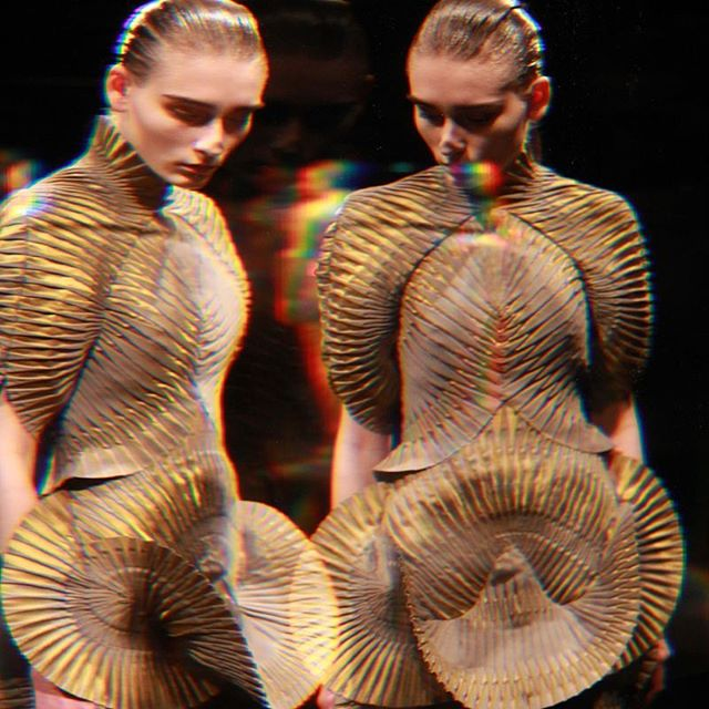 paris parisaimelamode modeaparis fashion fashionweek irisvanherpen pfw editorial