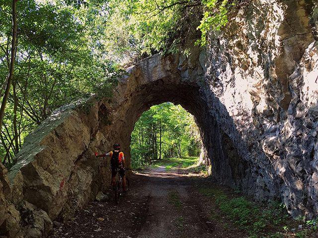 summer bergamo tunnel mtb valledelgiongo outsideisfree italy ohtheplacesyoullgo