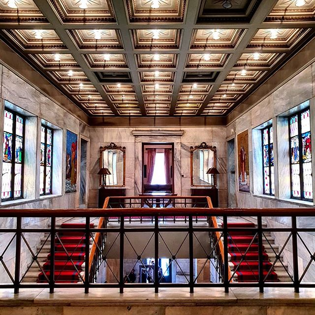 symmetrical ig_athens lines vitreauxglass perspective archilovers in_athens opulence pattern interior building oha2018 symmetricalmobs symmetricalmonsters geometric instaathens architecture symmetry republic_of_symmetry openhouseathens mayoral vitreaux openhouseathens2018 jj_symmetry geometry igers_athens architecturelovers