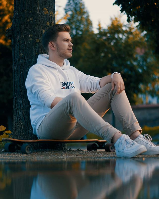 white water vienna tree summer style shooting reflection pose portraitkillers portrait photography park noon nature natural longboard light gramslayers fashion boy bokeh beige autumn austria
