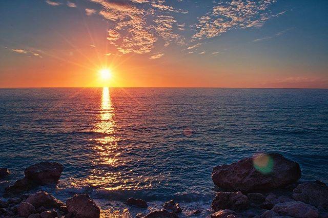 sea cloudporn sunlight greece clouds colorful beach sunset