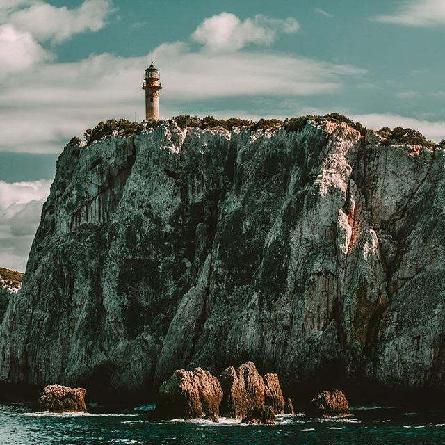 sailing nature rocks greece sea sky clif naturephotography water lighthouse
