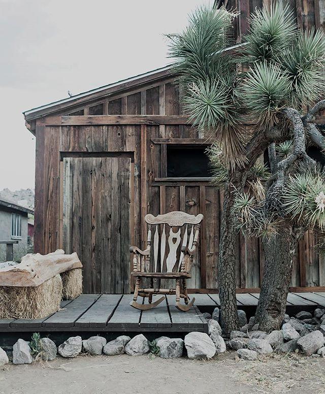 annamalmbergphoto print joshuatree wildwest rockingchair americanwest porch pioneertown