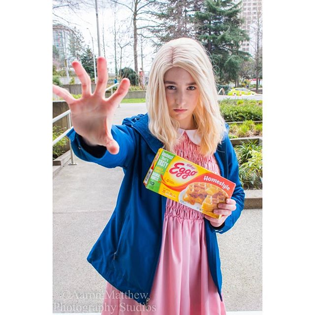 strangerthings pnwphotography pnwcosplay photography photographer ellie cute cosplay adorable