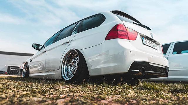 airlift airride stance bmw low slammed