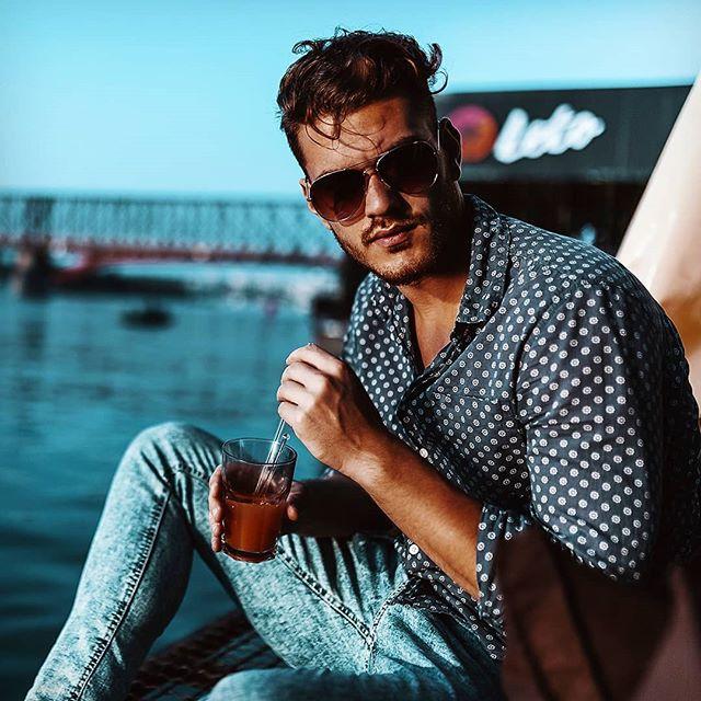 sunglasses photoshoot model men fashion chill casualstyle