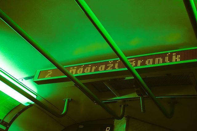 shooting praha prague photoshoot photography night neon neogrunk love green dark bus beauty art