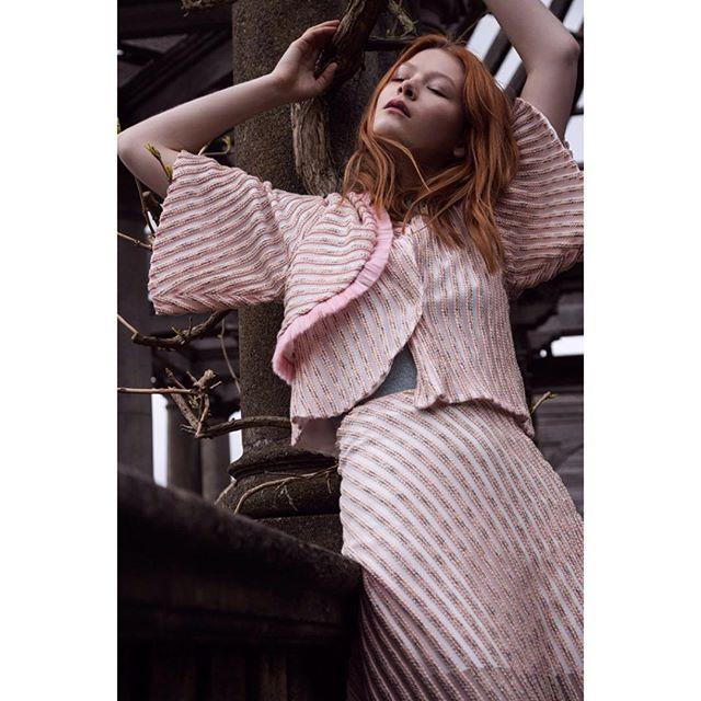 magazine fashionshoot photography secretgarden london location chic fashionphotography fashionlover fashion model fashioneditorial forest monument