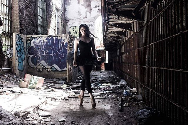 horror dance ballerina crazy light cinematography jail theater pointe abandoned photography tutu ballet film