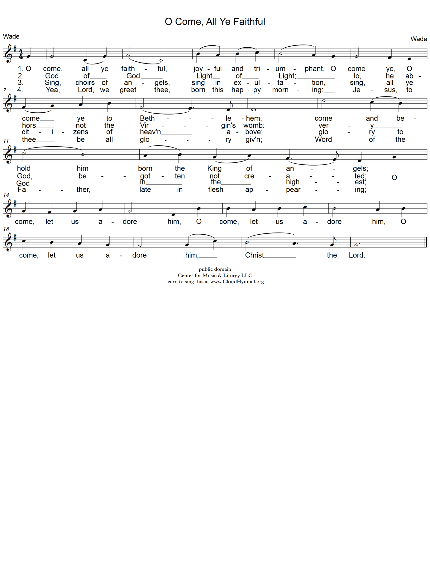 Cml library cloud hymnal 1 page read lyrics m4hsunfo