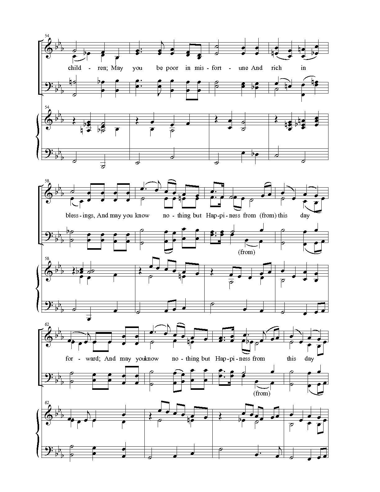 joyful joyful we adore thee chords pdf
