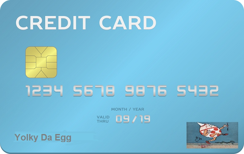 credit card number
