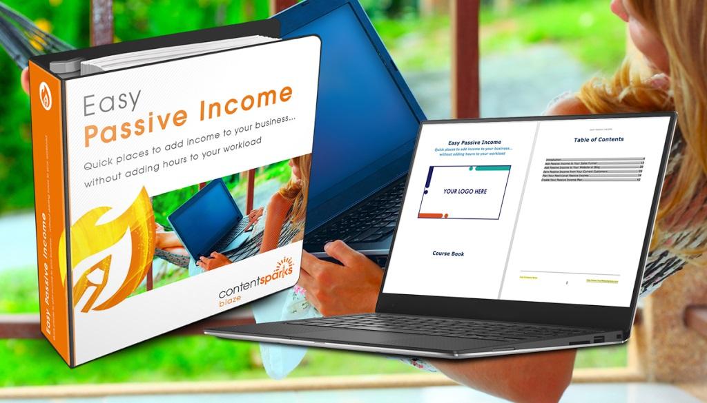 easy passive income