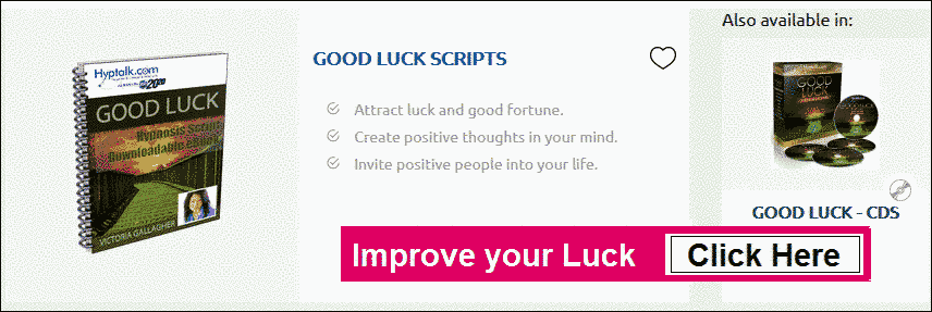 good luck scripts