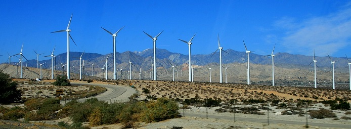 california wind farm