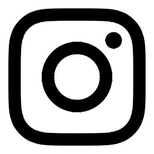 Icon instagram black