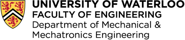 UW Department of Mechanical & Mechatronics Engineering