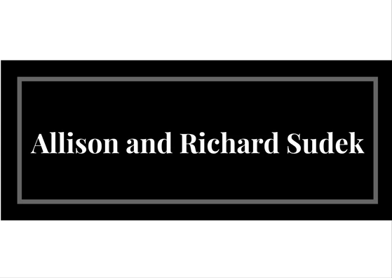 Allison and Richard Sudek