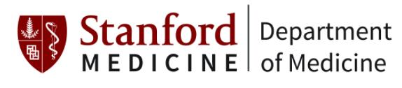 Stanford Department of Medicine