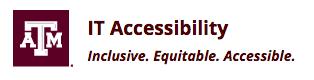 TAMU IT Accessibility