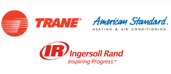 Trane, Ingersoll Rand, and American Standard
