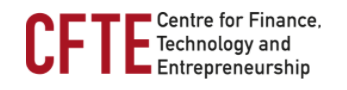 CFTE (Center for Finance, Technology, and Entrepreneurship)