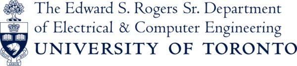 The Edward S. Rogers Sr. Department of Electrical and Computer Engineering, University of Toronto