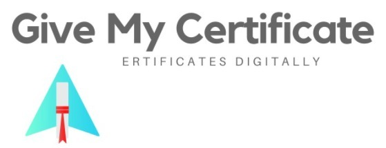 Give My Certificate