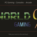 World 9 banner logo
