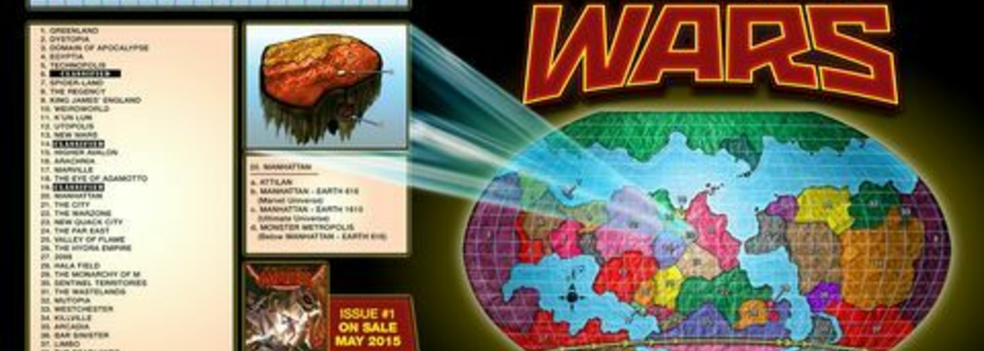 Comics secret wars battleworld