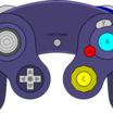 Gamecube controller purple