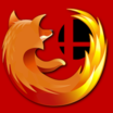 Firefox logo without globe by balcsida