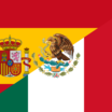 Flag of spain and mexico
