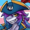 Sharkie icon pride