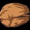 It's a cartoony walnut noborder