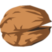 It's a cartoony walnut noborder