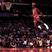 Michael jordan free throw line dunk