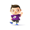 Villager purple
