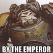 By the emperor