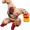 Can of instant borscht  the gief  edition